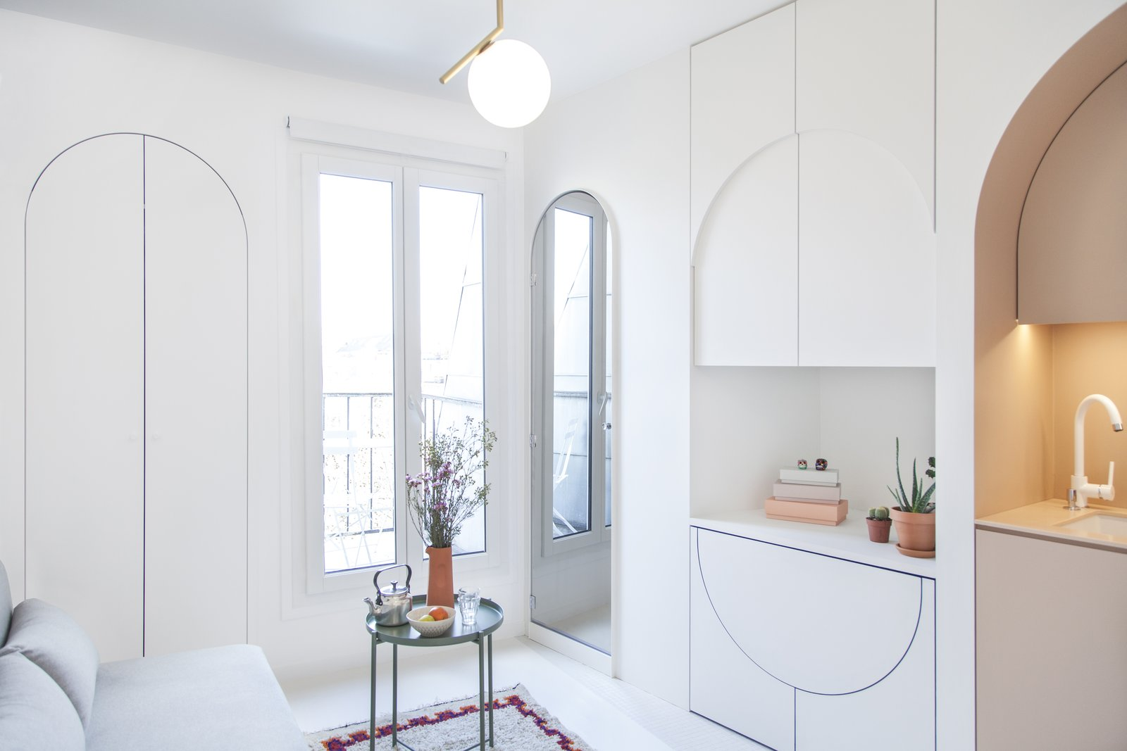 This Tiny Home in Paris Unfolds Like a Children\'s Pop-Up Book - Dwell