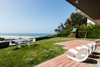 The Pacific Ocean is virtually in the property's backyard.