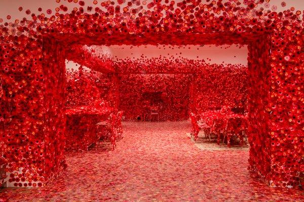 Design Digest: Yayoi Kusama, Gucci ArtLab, a Powerful Lynching Memorial, and More
