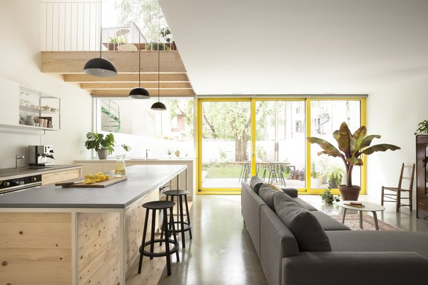 Before and After: A Century-Old Row House in Montreal Gets a Glorious Renovation