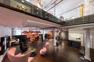 Formerly a chandelier shop, the new hub inhabits 6,700 square feet across two floors, and will take inspiration from Dixon's new London headquarters in Kings Cross to serve as a multi-disciplinary platform for innovation in design.
