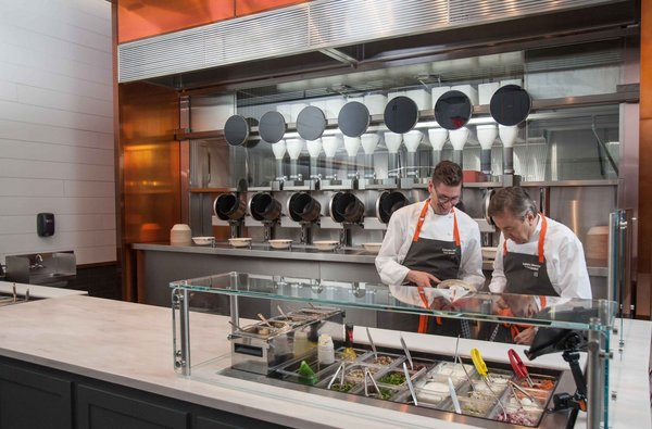 """""""When Michael and his three classmates emailed me about a robotic kitchen that could elevate fast food, I was impressed,"""" says Boulud. """"Not only had they guessed my email address correctly, the videolink to their cutting edge technology was unlike anything I'd seen before."""""""