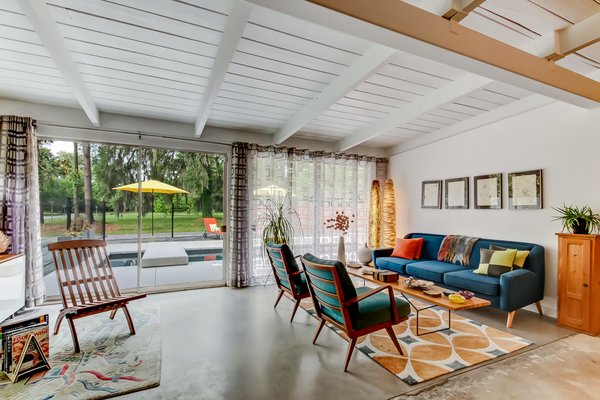 unusual phoenix home and garden. A Carefully Restored Midcentury Hits the Market at  415K in Savannah Georgia Modern living home design ideas inspiration and advice Dwell