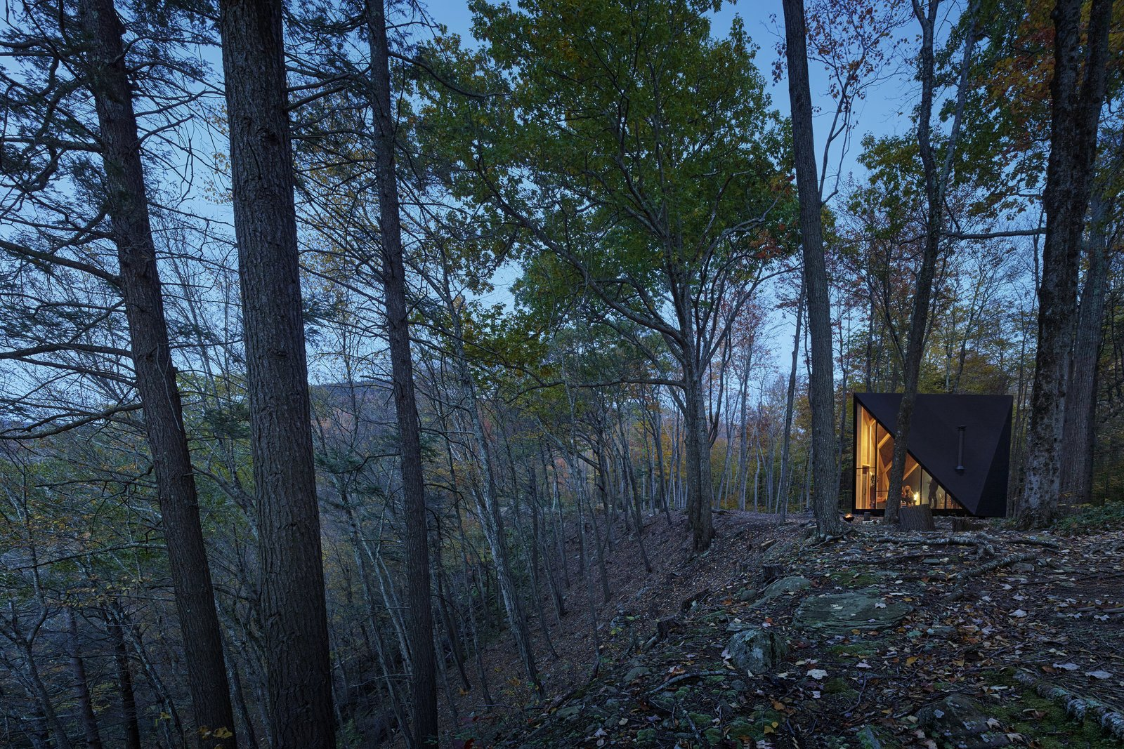 This Sleek, Angular Tiny Home Is Not Your Average A-Frame Cabin