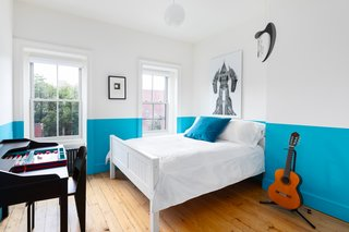 Two bright bedrooms are generously sized.