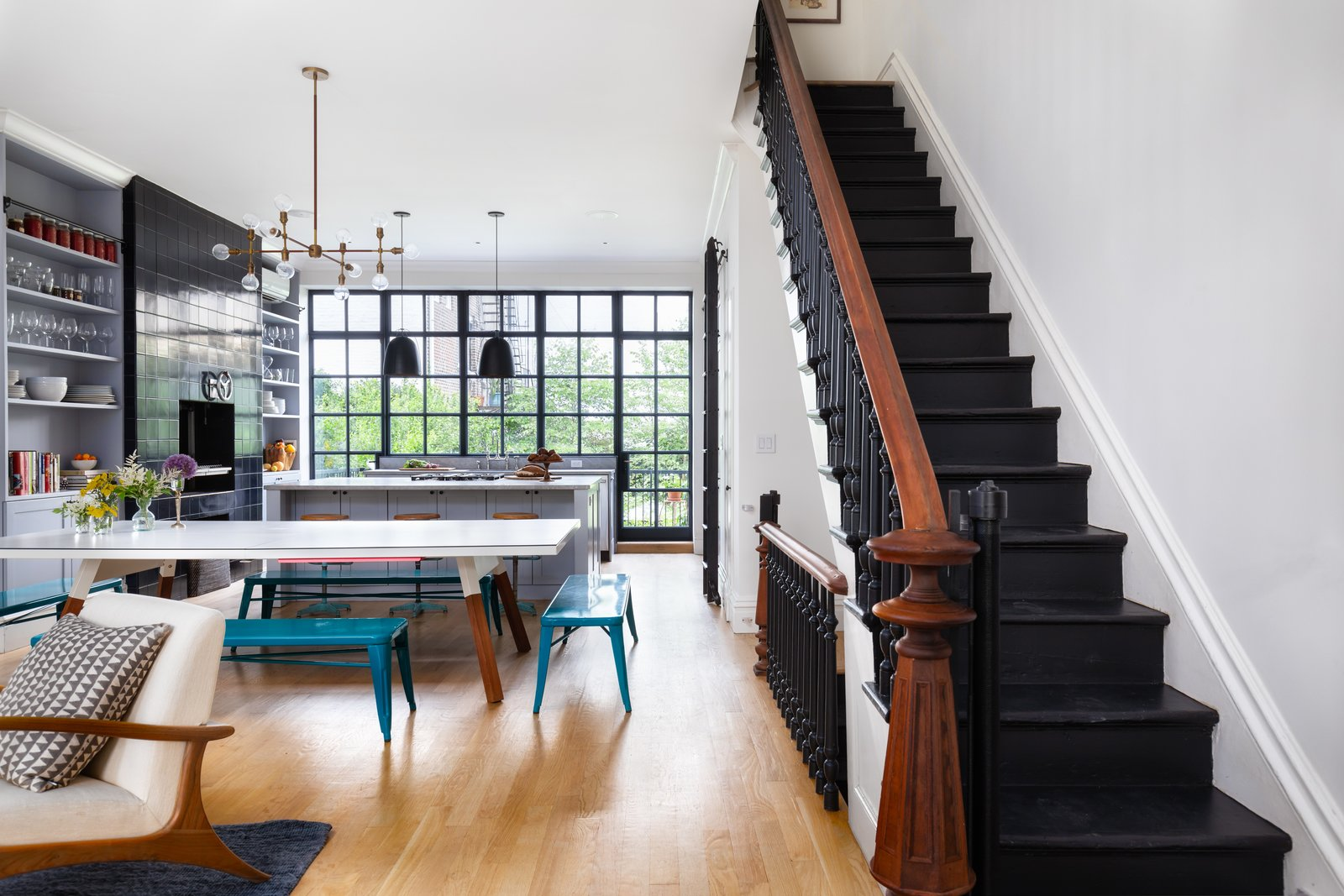 A Beautifully Restored Brooklyn Brownstone Is Listed At