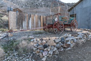 Relics of the American West are scattered throughout.