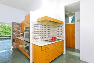 The original midcentury kitchen will lend itself well to modern updates.