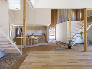 A Dirt Floor Snakes Through This Spectacular Japanese House