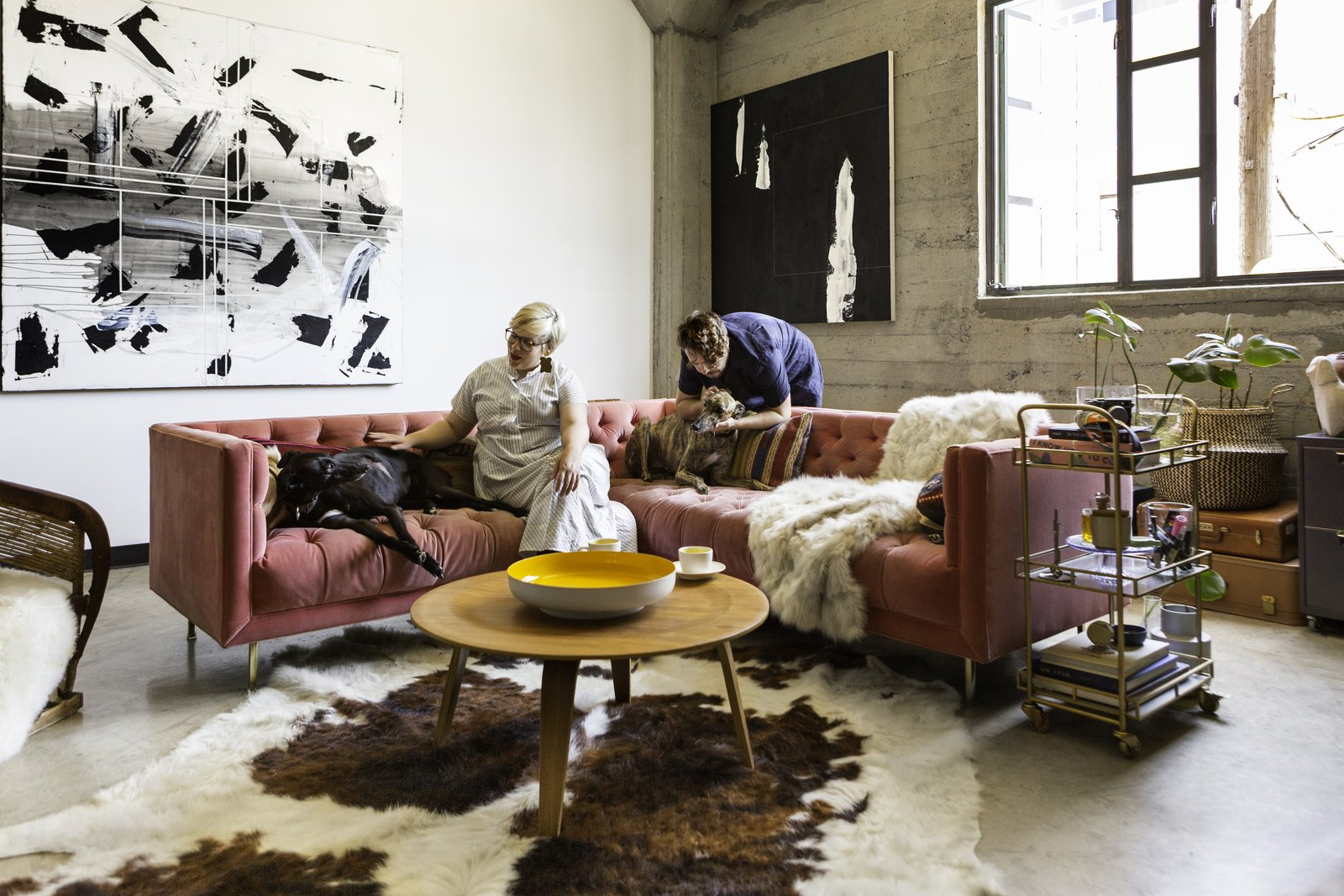 budget breakdown a bay area warehouse becomes a live work space for 124k dwell. Black Bedroom Furniture Sets. Home Design Ideas