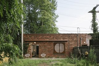 Big Space, Little Space preserves the brick exterior.