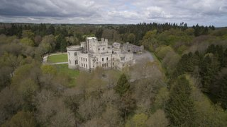 The gorgeous castle grounds make up Gosford Forest Park, Northern Ireland's first conservation forest.