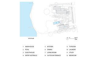 The East Lake House site plan.