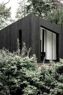 """""""They are a sculptural interpretation of the small buildings that you see across Europe, from Bothys to Alpine huts and Norwegian Hytte. These small pitched-roof buildings are an integral part of the landscape and provide warmth, shelter, and an opportunity to fully immerse in nature. That is the heart of the ethos at Koto,"""" explain the designers."""
