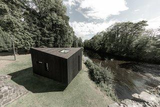 These Sleek Prefab Cabins Radiate Scandinavian Style