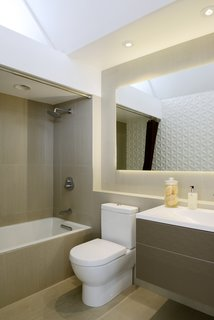 A look at the updated bathroom.