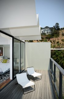 This is the terrace which is just off the master bedroom.