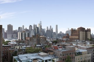 Soak in views of Manhattan.