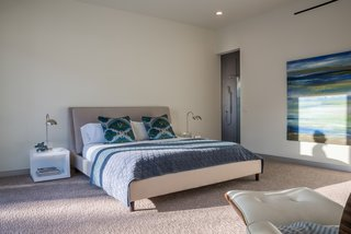 A look at the second master bedroom, which also has courtyard access.