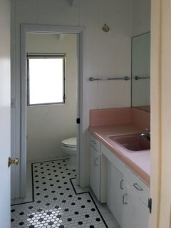 The original master bath was dated and in need of updates.