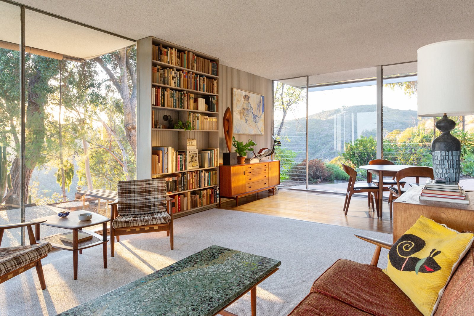 A Lovely, Light-Filled Neutra Home Just Listed For the First Time at $3M