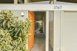 The welcoming home has many original features that Eichler purists seek.