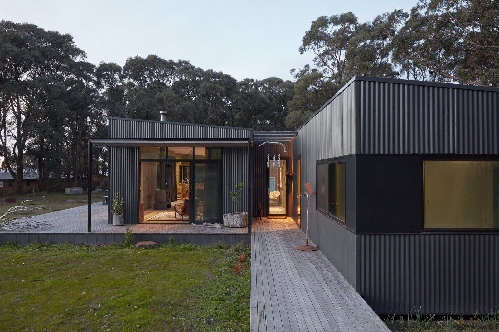 One Couple's Modular Retreat Supports Their Sustainable Lifestyle