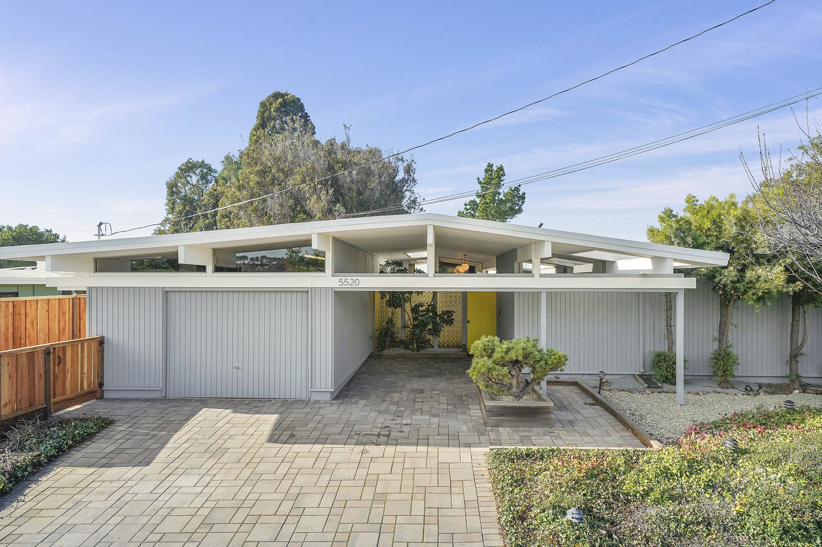 A Tastefully Expanded Eichler in the Bay Area Asks $1.2M