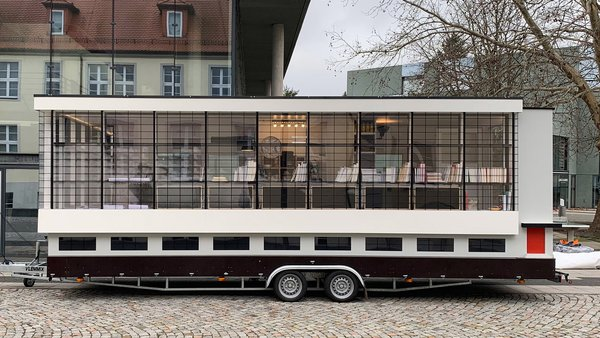 The Bauhaus Bus Embarks on a World Tour to Celebrate the School's Centennial