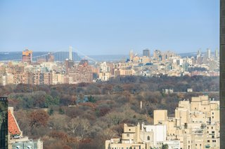 36th-floor views of Central Park and the city.