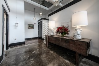 The renovation added modern conveniences while updating the building's plumbing, electrical system, and roof.