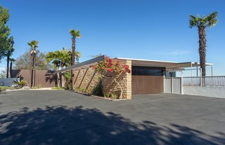 The unassuming facade of the Rados House hides its greatest secret: It is one of the largest Neutra-designed houses in the United States.