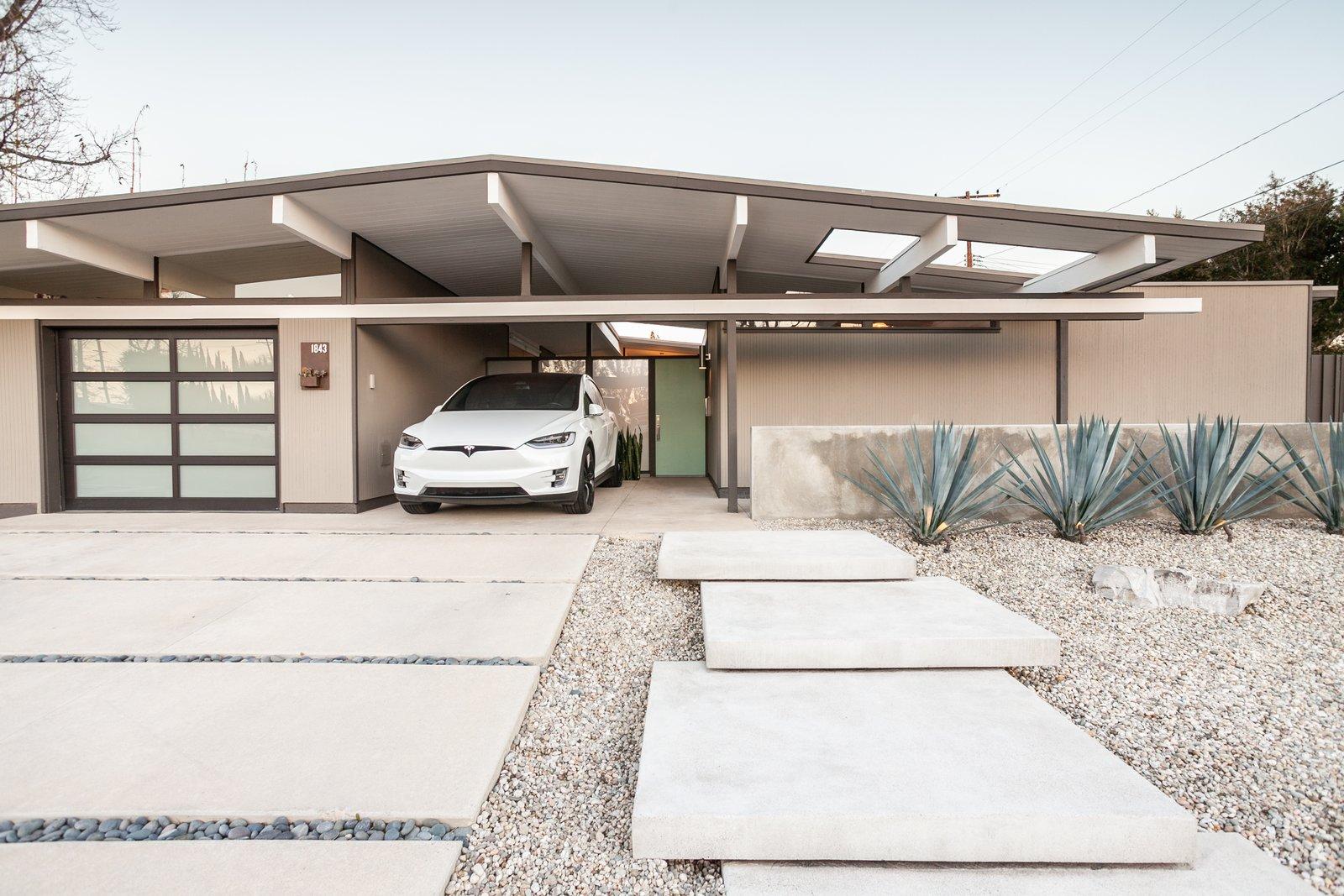 Updated Eichler For Sale in Orange, CA