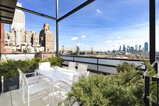 The residence offers breathtaking views of the East River in addition to its rich history and its coveted address.