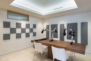Mel B's home recording studio.