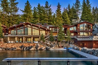 A  Lake Tahoe Mansion Where Frank Sinatra Used to Hang Out Asks $25.75M