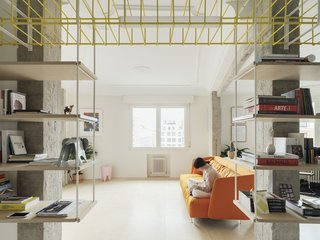 This Bilbao Apartment Takes the Open Floor Plan to the Extreme