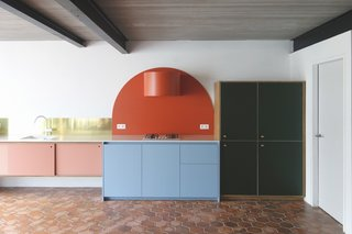 Feast Your Eyes on Designer Dries Otten's Punchy Kitchens