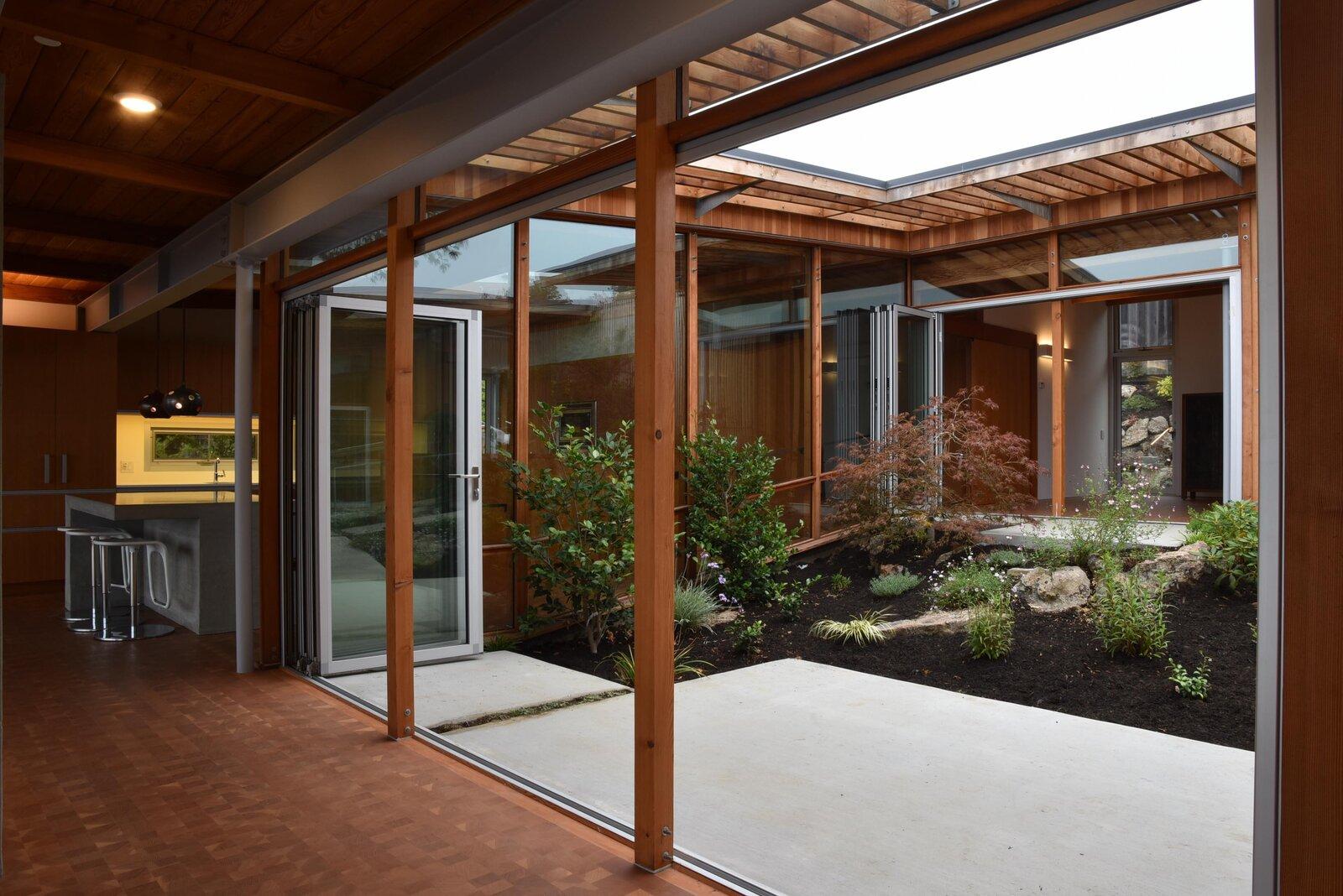 Phoenix House courtyard