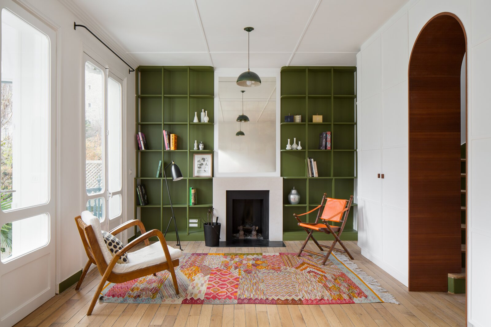 A Vibrant Retrofit Breathes New Life Into a Dilapidated 19th-Century House in Paris