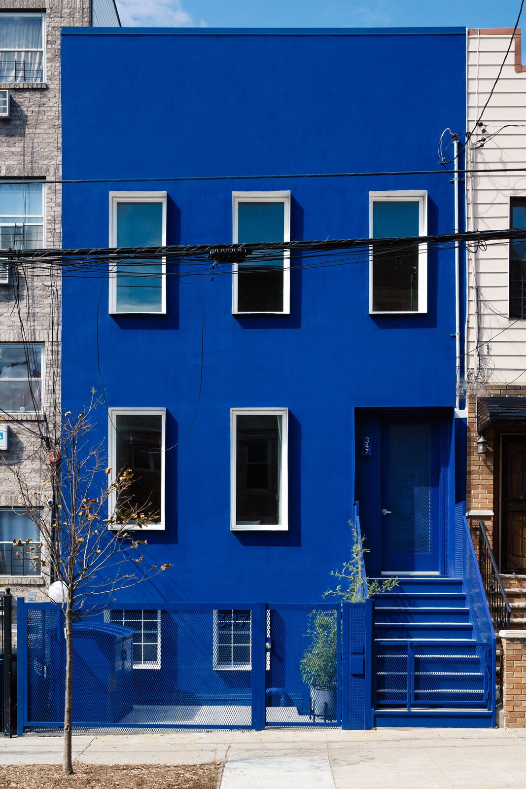 Blue Building Brooklyn LOT office for architecture