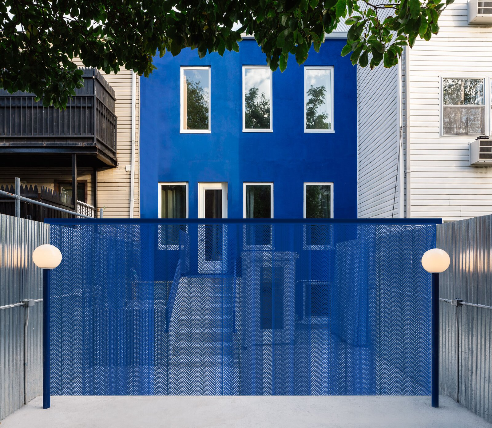 The Blue Building Brooklyn LOT office for architecture