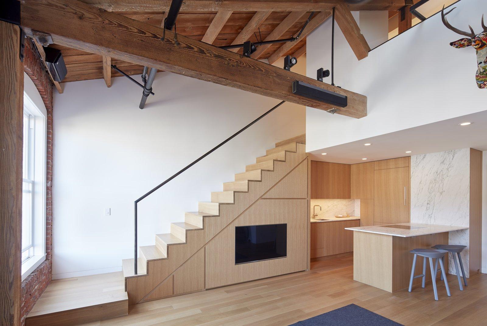 Kitchen  York Street Loft by Todd Davis Architecture