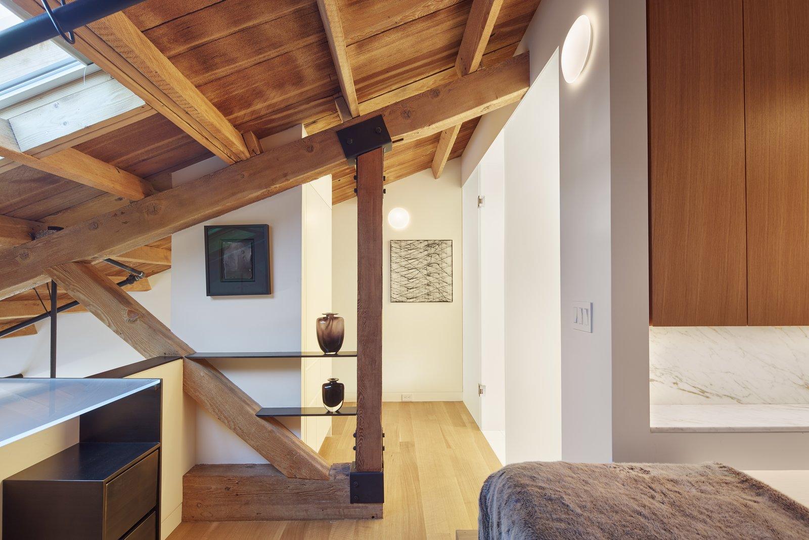 Hallway  York Street Loft by Todd Davis Architecture