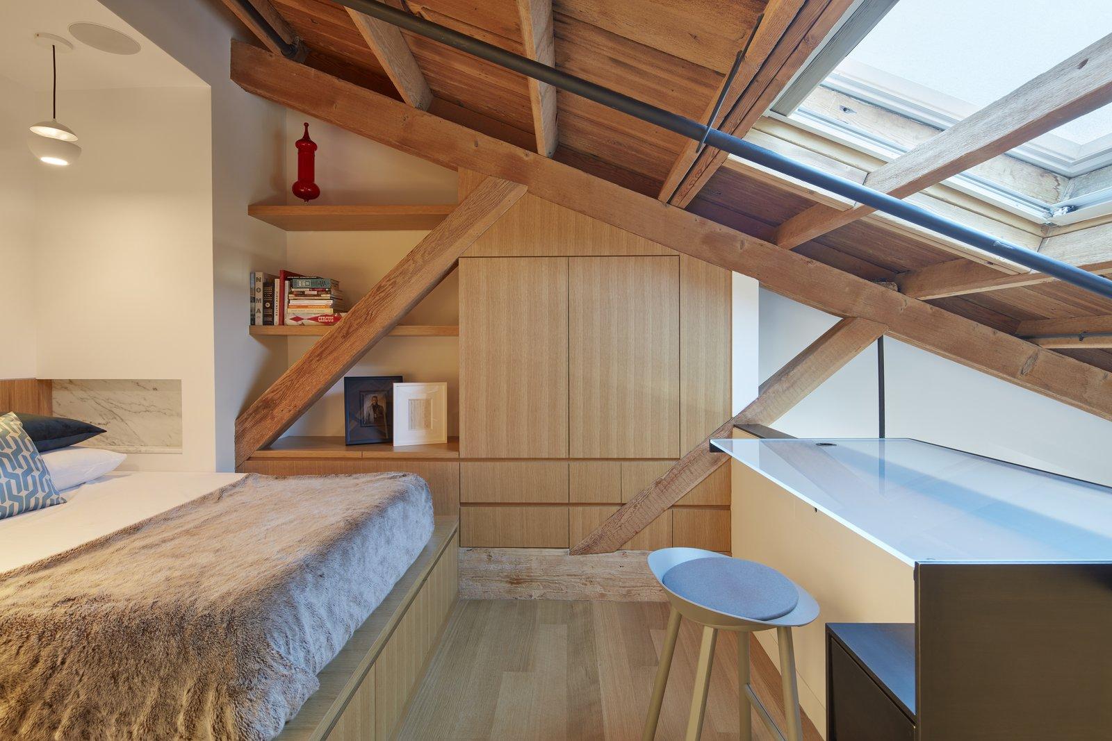 Bedroom  York Street Loft by Todd Davis Architecture