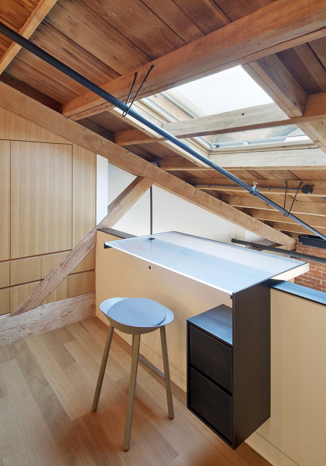 Office  York Street Loft by Todd Davis Architecture