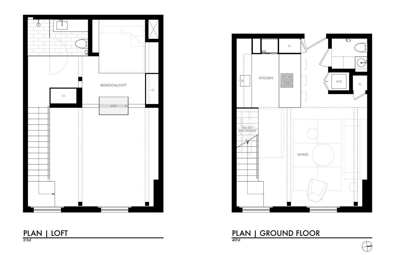 Shed & Studio  York Street Loft by Todd Davis Architecture