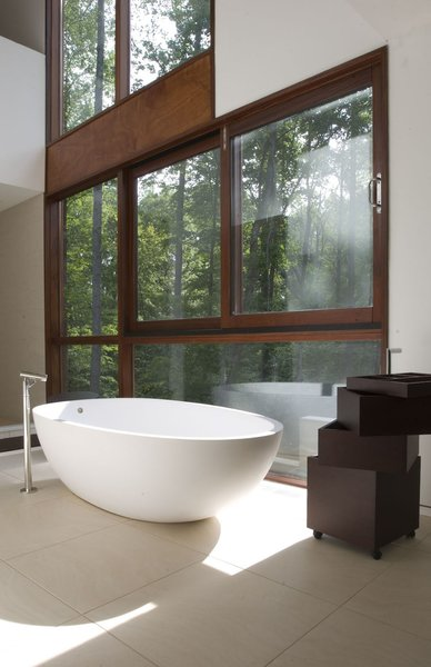 Bath Room and Freestanding Tub  Photo 27 of 40 in 40 Modern Bathtubs That Soak In the View
