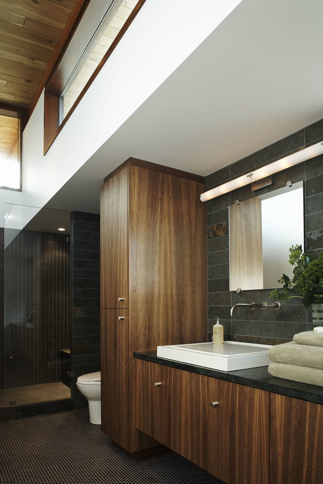 Bath Room  Serenbe House by Turkel Design