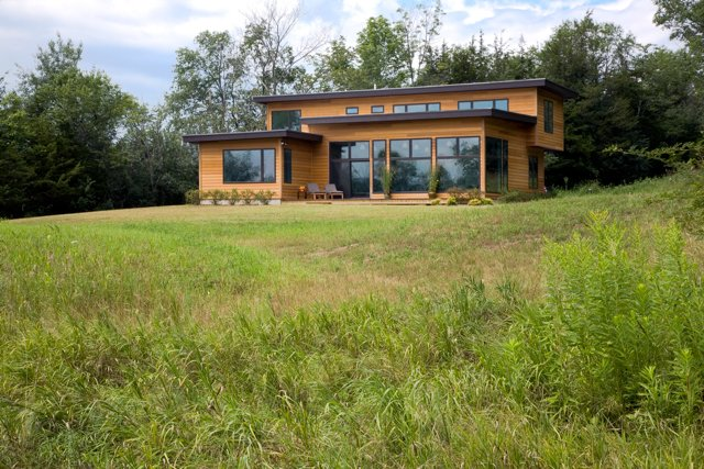 """Photo 2 of 6 in Turkel Design's """"Modern Cottage"""" awarded highest honor by NAHB Building Systems Council"""